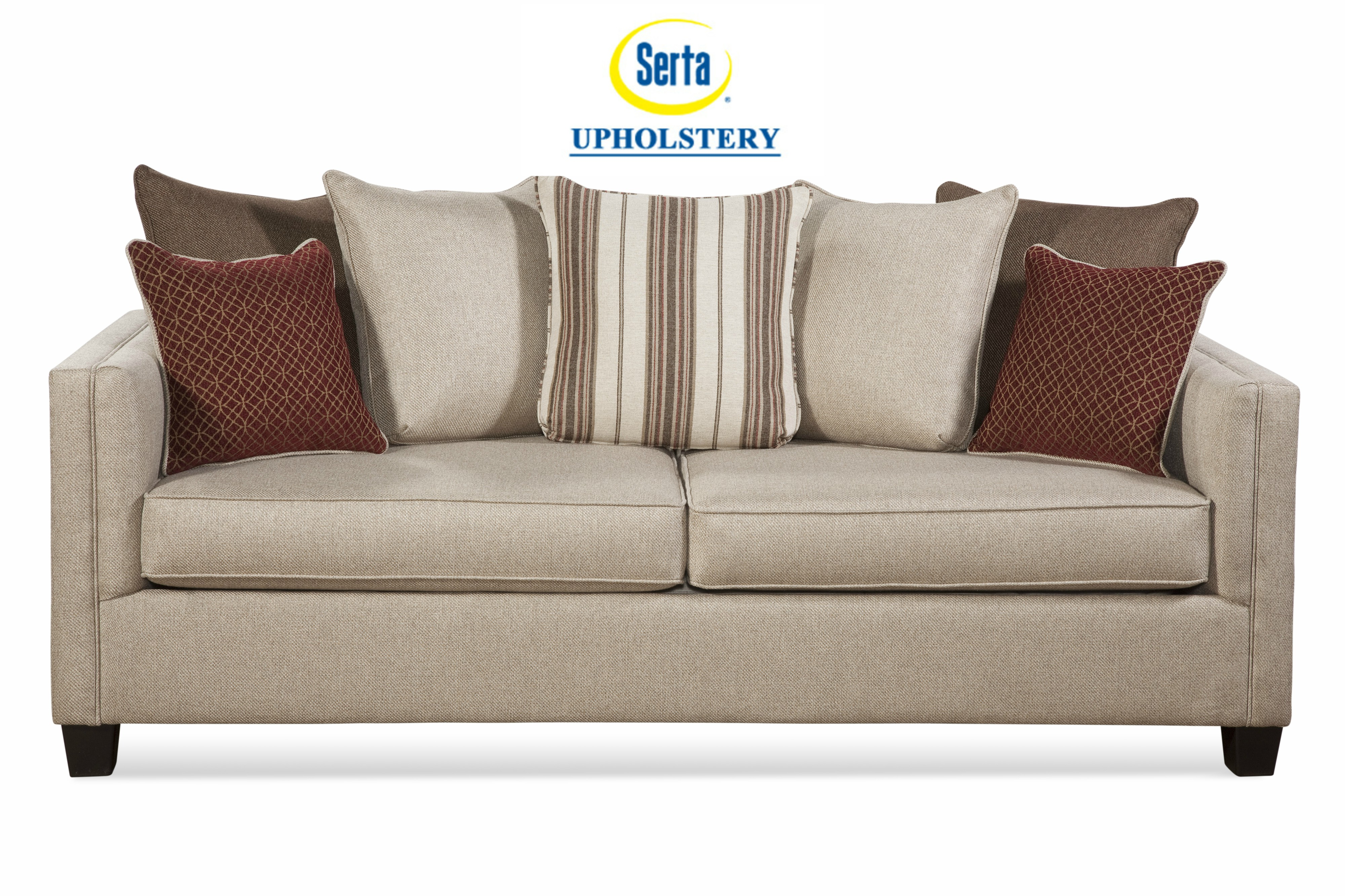 - SERTA Upholstery By Hughes REFLEX SAND Sleeper Sofa - Dream Rooms